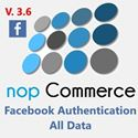 Facebook Authentication NopCommerce Plugin V.3.6