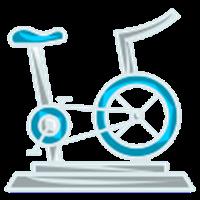 Lezione di gruppo di spinning