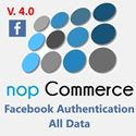 facebook authentication NopCommerce plugin V.4.0